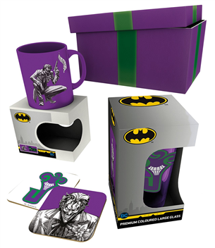 Kruus DC Comics Joker kinkekomplekt 5028486414840
