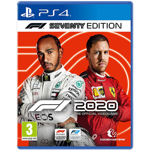 PS4 game F1 2020 Seventy Edition 4020628721992