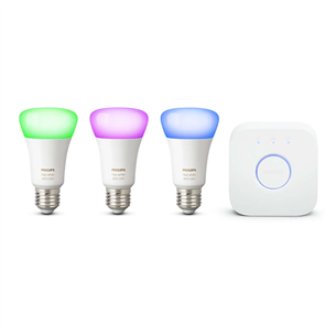 Комплект умных ламп Philips Hue White and Color Ambience (E27) 929002216899