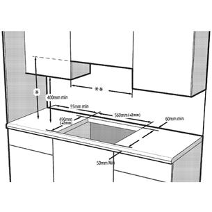 Integreeritav induktsioonpliidiplaat Beko