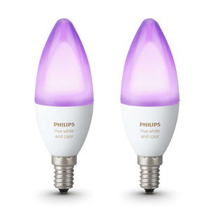Philips Hue bulb White and Color Ambience (E14) 929002294202