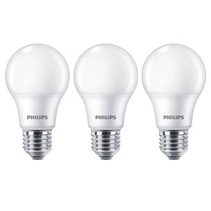 3 x LED lamp Philips E27 929001234581