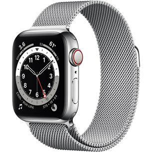 Смарт-часы Apple Watch Series 6 Steel (40 мм) GPS + LTE M06U3EL/A