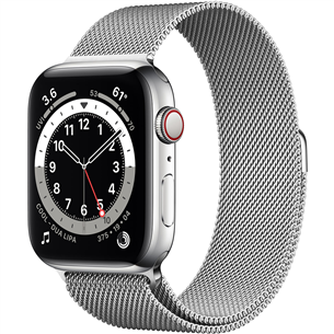 Apple Watch Series 6 Steel (44 mm) GPS + LTE M09E3EL/A