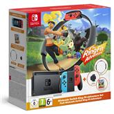 Игровая приставка Nintendo Switch + игра Ring Fit Adventure