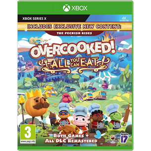 Series X mäng Overcooked! All You Can Eat