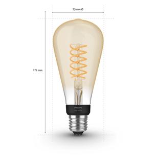 Умная лампа Philips Hue White Filament (E27)