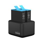 Dual Akulaadija + aku GoPro HERO9 Black seikluskaamerale