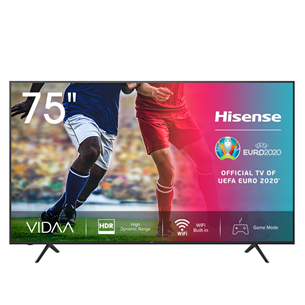 75'' Ultra HD LED LCD TV, Hisense