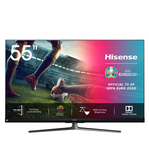 55'' Ultra HD LED LCD TV Hisense 55U8QF