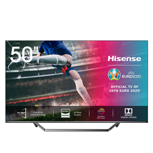 50'' Ultra HD LED LCD TV, Hisense 50U7QF