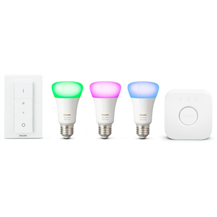 Комплект умных ламп Philips Hue White and Color Ambience (E27) 929002216805