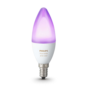Умная лампа Philips Hue White and Color Ambience (E14)