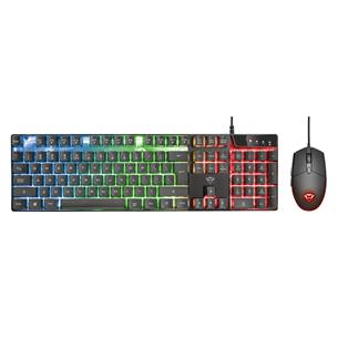 Klaviatuur + hiir Trust GXT 838 Azor (US)
