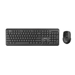 Juhtmevaba klaviatuur + hiir Trust ODY Wireless Silent (EST) 24286