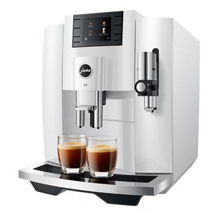 Espresso machine JURA E8 Piano White 15353