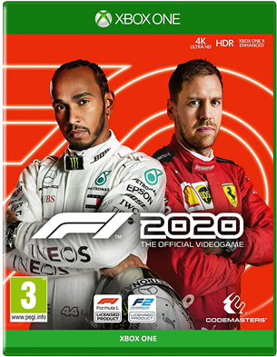 Xbox One game F1 2020 4020628721985
