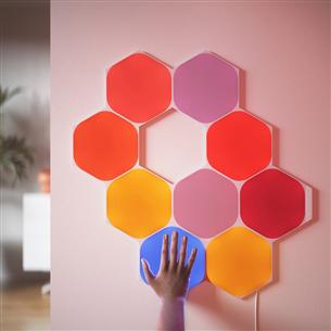 Nutivalgusti stardikomplekt Nanoleaf Shapes Hexagons (9 paneeli)