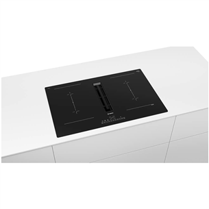 Built-in induction hob with hood Bosch