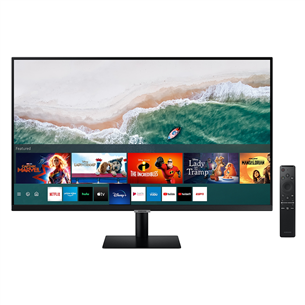 32'' Ultra HD LED VA monitor Samsung Smart USB-C LS32AM700UUXEN
