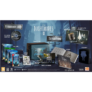 Nintendo Switch game Little Nightmares 2 TV edition