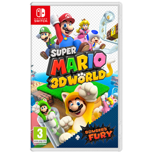 Игра Super Mario 3D World + Bowser's Fury для Nintendo Switch 045496426941