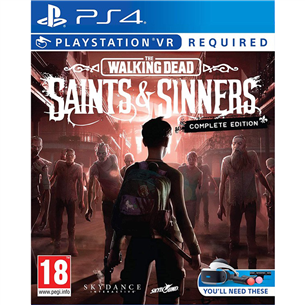 PS4VR game The Walking Dead: Saints and Sinners 5016488136716
