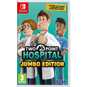 Switch mäng Two Point Hospital Jumbo Edition 5055277042142