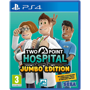 PS4 mäng Two Point Hospital Jumbo Edition 5055277041930
