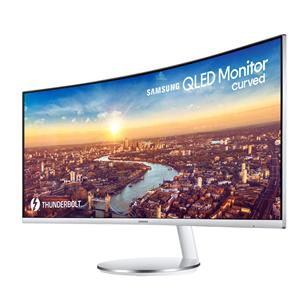 """34"""" curved WQHD UltraWide QLED monitor Samsung"""