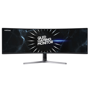 "49"" curved UltraWide QLED monitor Samsung"