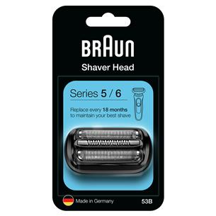Foil frame + blade Braun