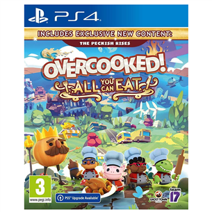 Игра Overcooked! All You Can Eat для PlayStation 4 5056208808776