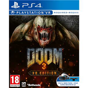 PS4 game Doom 3 VR Edition 5055856429302