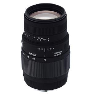 Objektiiv 70-300mm F4-5,6 DG Macro Canonile, Sigma