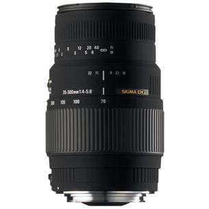 Objektiiv 70-300mm F4-5.6 DG Macro (Motorized) Nikonile, Sigma