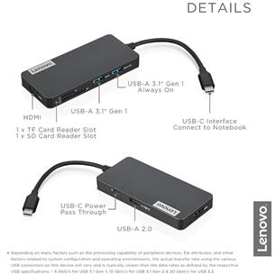 USB Jagaja Lenovo USB-C 7-in-1