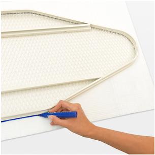 Ironing Board Felt Underlay Brabantia 135 x 49 cm