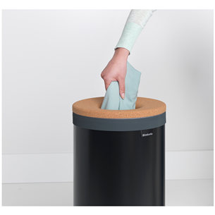 Laundry bin with cork lid Brabantia 35 L