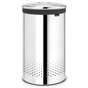 Laundry bin with metal lid Brabantia 60 L