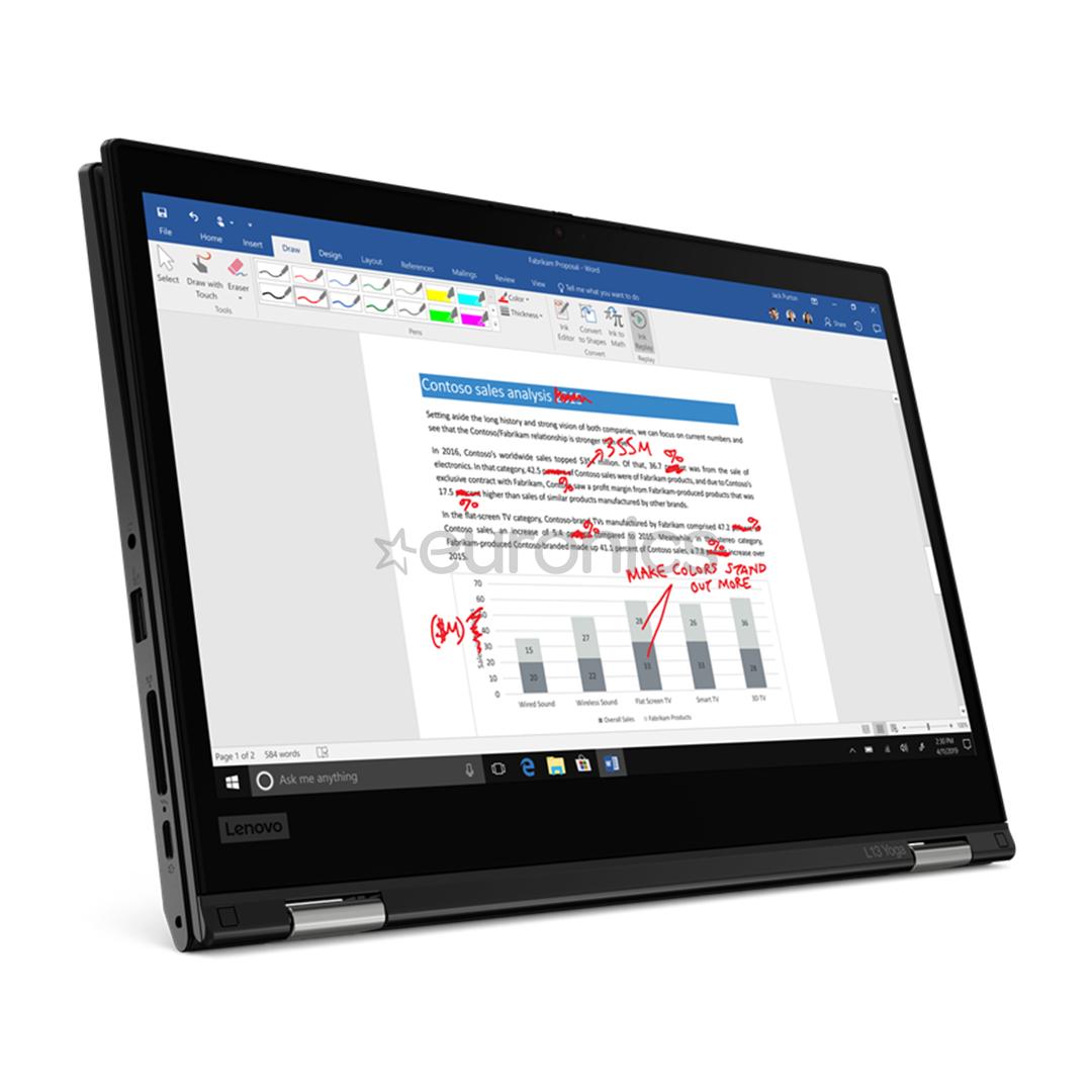 Ноутбук Lenovo Thinkpad L13 Yoga Gen 2 (SWE)
