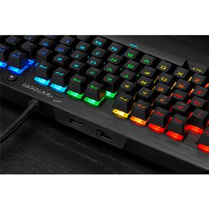 Keyboard Corsair K65 LUX TKL RGB Cherry MX Red (ENG)