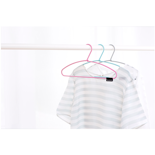Soft touch clothes hangers Brabantia set of 3