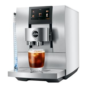 Espressomasin JURA Z10 Aluminium White 15348