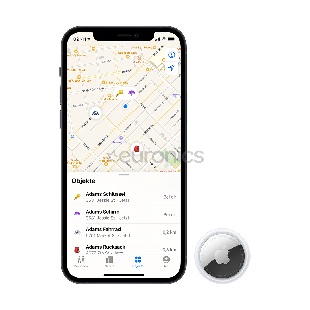 Smart tracker Apple AirTag (1 pack)