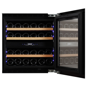 Built-in wine cooler Dunavox (capacity: 25 bottles)