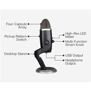 Mikrofon Blue Yeti X Pro