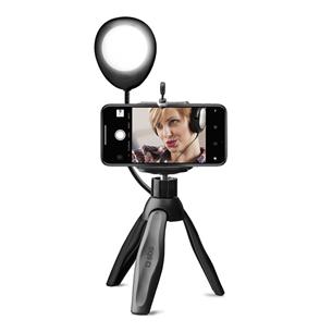 Tripod with selfie light and wireless shutter SBS TESELFIERINGMINI