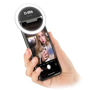Selfie ring light for smartphone SBS TESELFIERINGLIGHT