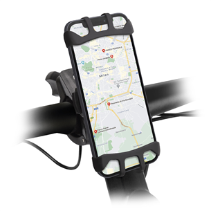 Phone holder for electric scooters and bikes SBS E-Go 360 degrees TEERIDEHOLD360